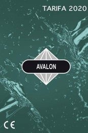 AVALON PYD Electrobombas 2020