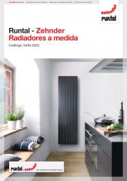Runtal Zehnder 2020 Radiadores a medida