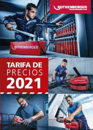 Tarifa Rothenberger 2021