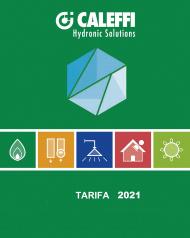 Tarifa Caleffi 2021